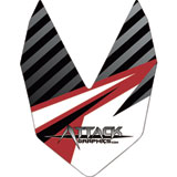 Attack Graphics Stratos Front Fender Decal