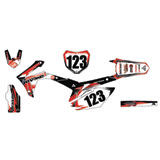 Attack Graphics Custom Flight Complete Bike Graphics Kit