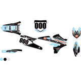 Attack Graphics Custom Deseret Complete Bike Graphics Kit