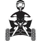 Attack Graphics Ride Life ATV Family Window Decal - Boy