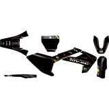 Attack Graphics Custom Alloy Complete Bike Graphics Kit