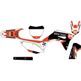 Attack Graphics Custom Race Team Complete Bike Graphics Kit