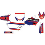Attack Graphics Custom Turbine Complete Bike Graphics Kit YZ Blue/Red