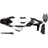 Attack Graphics Custom Fuze Complete Bike Graphics Kit Black/Dark Grey