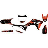 Attack Graphics Custom Fuze Complete Bike Graphics Kit
