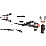 Attack Graphics Custom Fuze Complete Bike Graphics Kit Grey/Black
