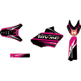 Attack Graphics Custom Blitz Full Trim Kit Black/Pink