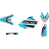 Attack Graphics Custom Blitz Full Trim Kit White/Baby Blue