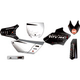 Attack Graphics Custom Havoc Complete Bike Graphics Kit Black/Dark Grey