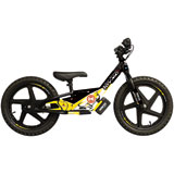 Attack Graphics Race Team Complete Stacyc Graphic Kit Husky Yellow