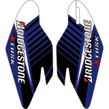 Attack Graphics Turbine Lower Fork Guard Decal Blue