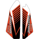 Attack Graphics Turbine Lower Fork Guard Decal Red