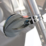 Axia Alloys Round Convex Side Mirror Kit