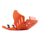 AXP Racing Xtrem HDPE Skid Plate Orange