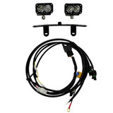 Baja Designs Sportsmen Windscreen Mounted LED Light Kit