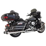 Bassani Xhaust True-Dual Down Under Exhaust System (No CA)