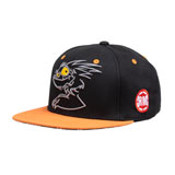 BB4 Chupacabra Snapback Hat Black/Orange