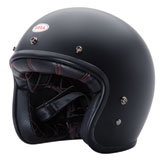 Bell Custom 500 Solid Open-Face Motorcycle Helmet Matte Black