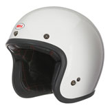 Bell Custom 500 Solid Open-Face Motorcycle Helmet White