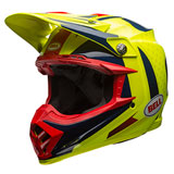 Bell Moto-9 Carbon Flex Helmet 2018 Vice Blue/Yellow