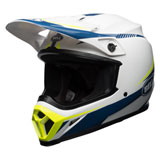 Bell MX-9 w/MIPS Helmet Torch White/Blue/Yellow