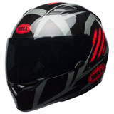 Bell Qualifier Blaze Helmet Black/Red/Titanium