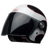 Bell Riot Boost Helmet White/Black/Red