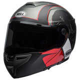 Bell SRT Hart Luck Modular Helmet Charcoal/Red