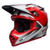 Bell Moto-9 Carbon Flex Helmet 2019 Hound Red/White/Black