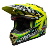 Bell Moto-9 Flex Tagger Mayhem Helmet Green/Black/White