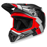 Bell MX-9 Twitch Replica MIPS Helmet Black/Red