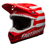 Bell Moto-9 FH Signia MIPS Helmet Matte Red/White
