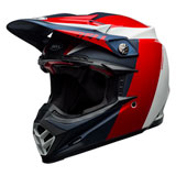 Bell Moto-9 Flex Division Helmet Black/White/Red