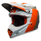 Bell Moto-9 Flex Division Helmet White/Orange/Sand