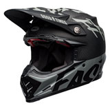 Bell Moto-9 Flex Fasthouse WRWF Helmet Black/White/Grey