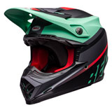 Bell Moto-9 Prophecy MIPS Helmet 2020 Matte Green/Infrared/Black
