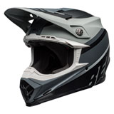 Bell Moto-9 Prophecy MIPS Helmet Matte Grey/Black/White