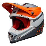 Bell Moto-9 Prophecy MIPS Helmet Matte Orange/Black/Grey