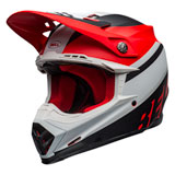 Bell Moto-9 Prophecy MIPS Helmet Matte White/Red/Black