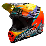 Bell Moto-9 Tagger Breakout MIPS Helmet Orange/Yellow
