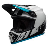 Bell MX-9 Dash MIPS Helmet White/Blue