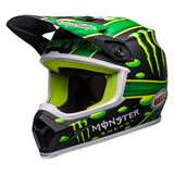 Bell MX-9 Showtime MIPS Helmet Matte Black/Green