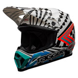 Bell MX-9 Tagger Check Me Out MIPS Helmet White/Black
