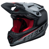 Bell Youth Moto-9 Glory MIPS Helmet Matte Black/Grey/Crimson