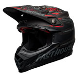 Bell Moto-9 Flex Fasthouse DITD 21 Helmet Black/Grey/Red