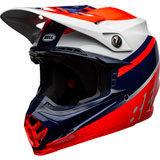 Bell Moto-9 Prophecy MIPS Helmet Gloss Infrared/Navy/Grey