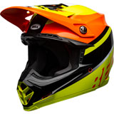 Bell Moto-9 Prophecy MIPS Helmet Gloss Yellow/Orange/Black