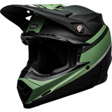 Bell Moto-9 Prophecy MIPS Helmet Matte Black/Dark Green