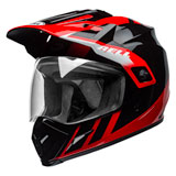 Bell MX-9 Adventure Dash MIPS Helmet Black/Red/White