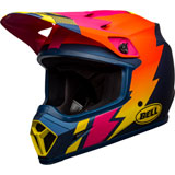 Bell MX-9 Dash MIPS Helmet Matte Blue/Orange/Pink